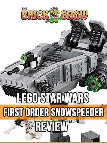 LEGO Star Wars First Order Snowspeeder Review (75100)