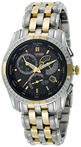 Citizen Men's BL8044-59E Eco-Drive Calibre 8700 Two-Tone Diamond Watch