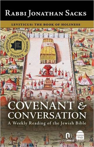 Covenant & Conversation Leviticus: The Book of Holiness written by Jonathan Sacks