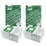 numatic henry hetty etc hepa flo vacuum cleaner dust bags pack of 20