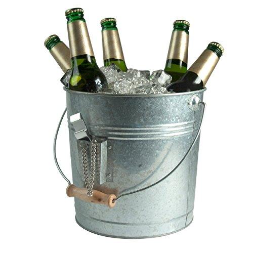 Artland Oasis Beverage Pail, Galvanized, Metal 1