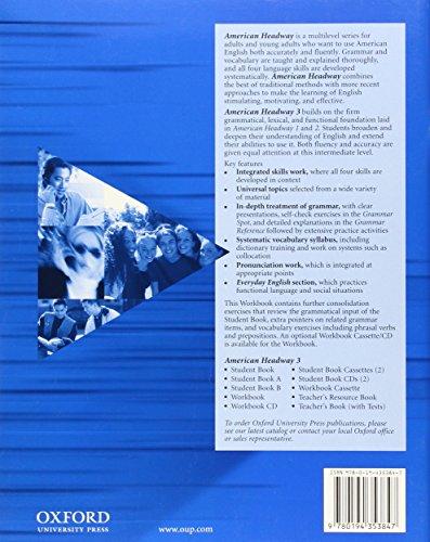 American headway. Workbook. Per le Scuole superiori: American Headway 3: Workbook (American Headway First Edition)