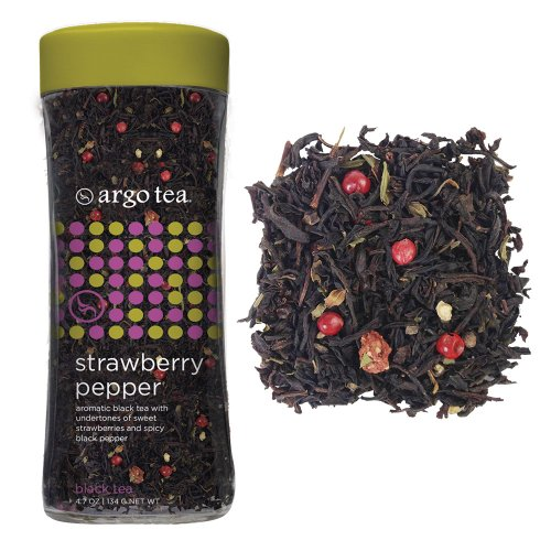 Strawberry Pepper Loose Leaf Tea - 4.7Oz
