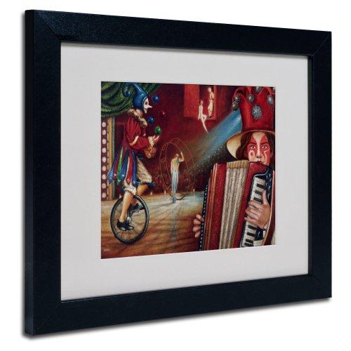 Trademark Fine Art Spectator Artwork By Edgar Barrios, Black Frame, 11 By 14-Inch front-442427