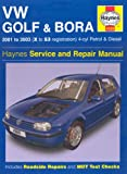 VW Golf and Bora 4-cyl Petrol and Diesel Service and Repair Manual (Haynes Service and Repair Manuals)