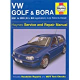 VW Golf and Bora 4-cyl Petrol and Diesel Service and Repair Manual: 2001-2003 (Haynes Service and Repair Manuals)by A. K. Legg