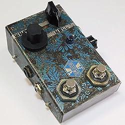 Beetronics WHOCTAHELL Custom Blue Leafs ビートロニクス ウォクタヘル カスタムブルーリーフス 独創的なオクターブダウンファズ 国内正規品