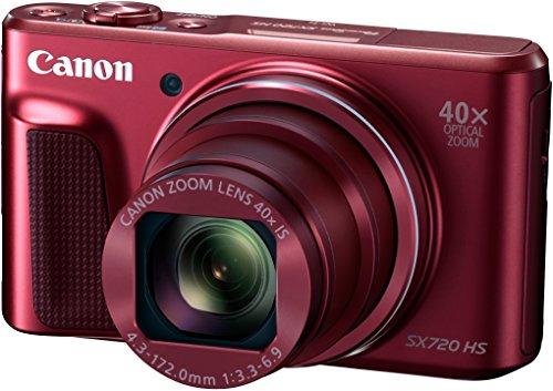 Canon Powershot SX720 HS Fotocamera Compatta Digitale 20,3 Megapixel, Rosso