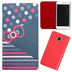 DooDa - For Samsung Galaxy Ace Plus PU Leather Designer Fashionable Fancy Flip Case Cover Pouch With Smooth Inner Velvet