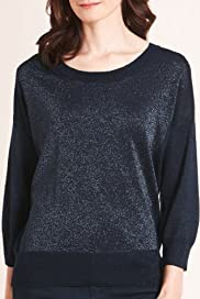 Autograph Colour Block Shimmer Jumper [T50-3140-S]