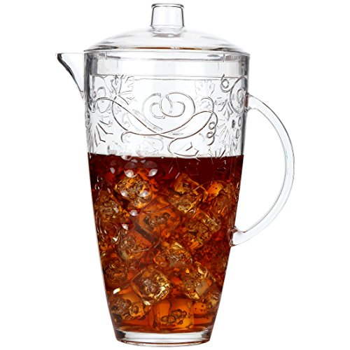 Lily's Home Break Resistant Indoor / Outdoor Plastic Pitcher (12 Cup Water Pitcher compare prices)