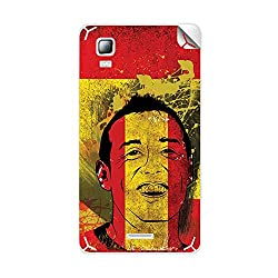 ezyPRNT Micromax Canvas Doodle 3 A102 Santi Cazorla Football Player mobile skin sticker