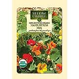 Seeds of Change Certified Organic Nasturtium Mix - 5 grams, 20 Seeds Pack
