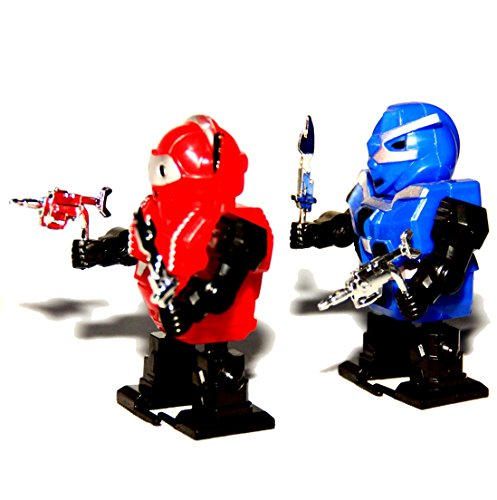 Dazzling Toys Wind-up Robots - Pack of 6 (D129) - 1
