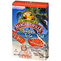 Margaritaville Singles to Go 72-Count Drink Mix (Strawberry Daiquiri)