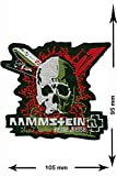 Patch - Rammstein - Reise Reise - HQ Patch- Musicpatch - Iron-On Patches - - Embroidery