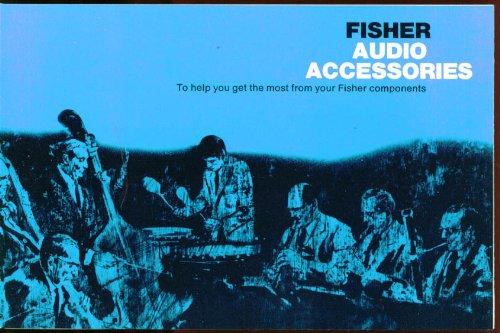 Fisher Audio Accessory Sales Folder 1969