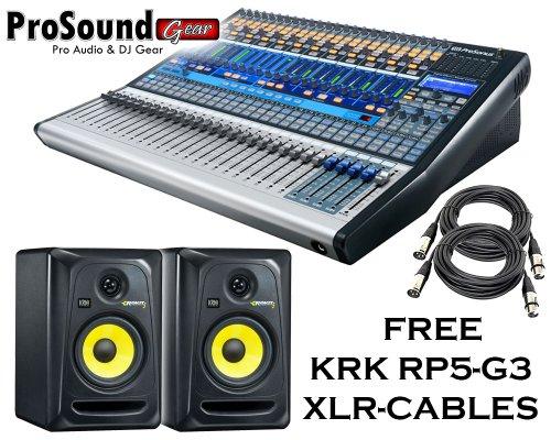 Presonus Studiolive 16.4.2 Ai + Free Krk Rp5-G3 (Pair) + Free Xlr Cables - (Prosoundgear Authorized Seller)