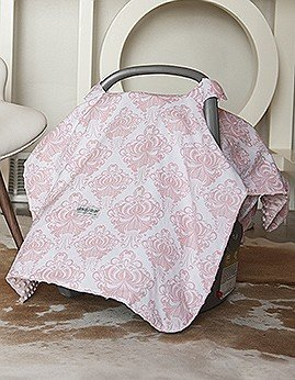 Angelina Canopy Pink/White
