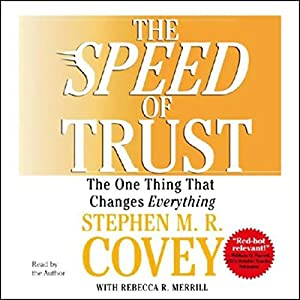 The Speed of Trust Hörbuch