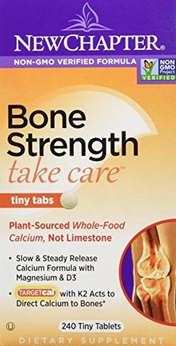 New Chapter Bone Strength Take Care Tiny Tabs, Calcium Supplement