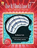 img - for Use It Don't Lose It! Language Grade 8 book / textbook / text book