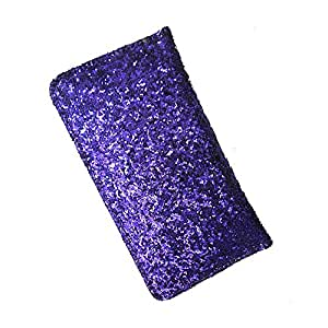 i-KitPit : PU Leather Wallet Flip Pouch Case Cover For Xiaomi MI2S (PURPLE)