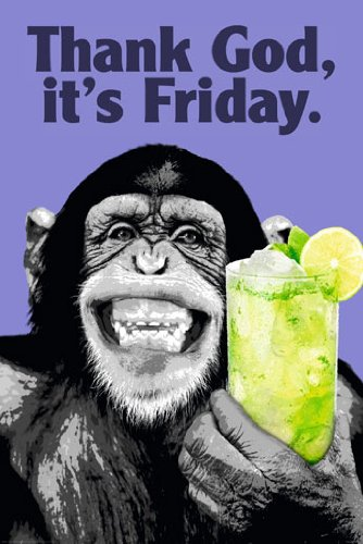 The Chimp - Friday Poster - 91.5x61cm