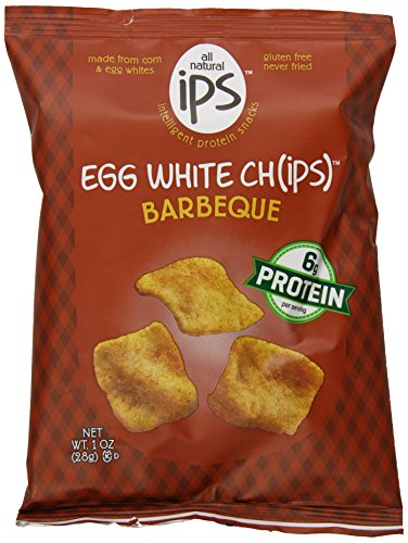 Ips The Original Egg White Chips, Barbeque, 1 Ounce (Pack of 24)