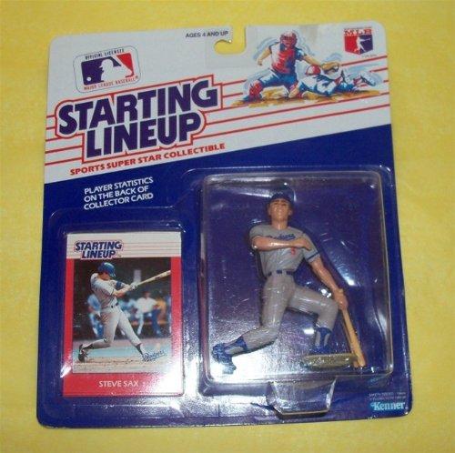 Starting Lineups Dodgers Steve Sax