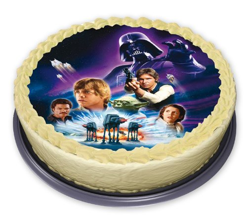 Star Wars Edible cake decoration Star Wars