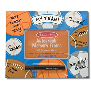 Deluxe Sports Autograph Memory Frame