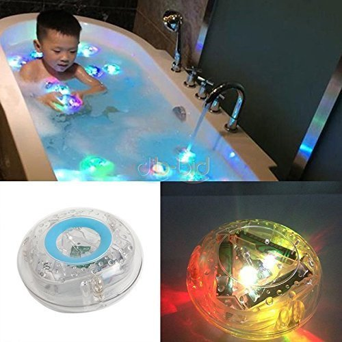 Party in the Tub Toy Bath Water LED Light Kids Waterproof children funny time (Bathroom Tub Light compare prices)