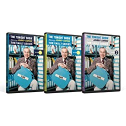 The Tonight Show Vault Series Collection Volume 1-3 starring Johnny Carson