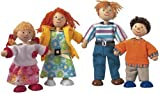 Plan Toy Modern Doll Family #7142