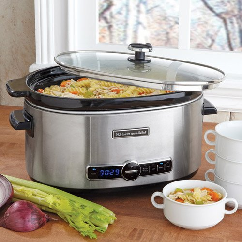 Digital Slow Cookers: KitchenAid 6-qt. Slow Cooker