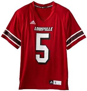 NCAA Louisville Cardinals Men's Replica Football Jersey (Red, X-Large)