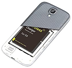 Exilient wireless charging kit for Samsung S4