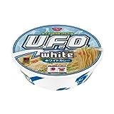 日清食品 日清焼そばU.F.O. white ホワイトカレー 123g(めん100g) 12個入 2ケース