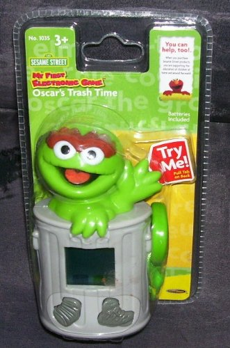 Sesame Street My First Electronic Game OSCAR'S TRASH TIME 2005