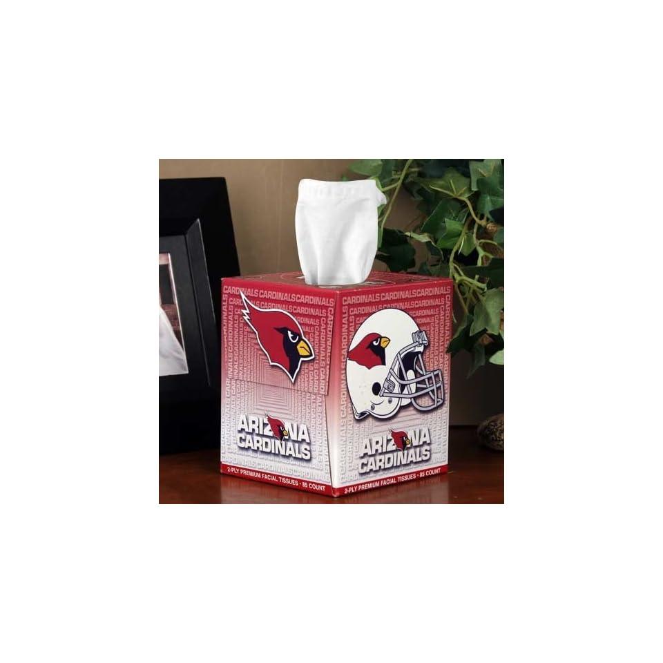 NFL Arizona Cardinals Box of Sports Tissues