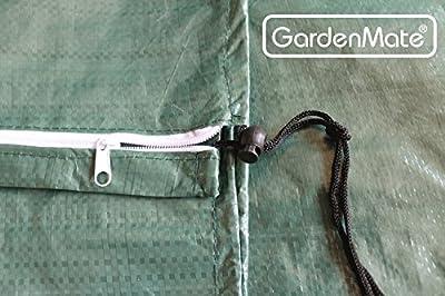 GardenMate® Schutzhülle für Sonnenschirme und Wäschespinnen - Höhe 150cm Ø 25cm - Premiumqualität aus 120gsm PE Gewebe