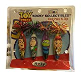 Disney Pixar Toy Story 3 Kooky Kollectibles Click Pens & Clip Set