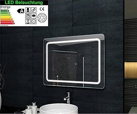 Illuminazione a LED Specchio da bagno 60x80cm