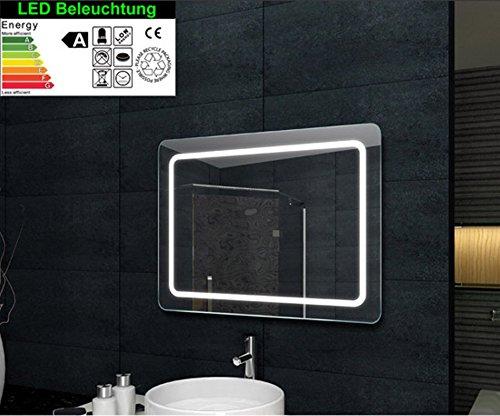 Lavastoviglie da incasso illuminazione a led specchio da bagno 60x80cm - Illuminazione bagno led ...