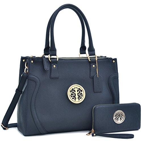 dasein-fashion-womens-briefcase-satchel-office-work-bag-with-convertible-shoulder-bag-purse-strap-bl
