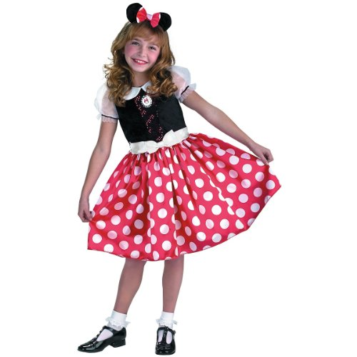 Minnie Mouse Classic Costume - Large