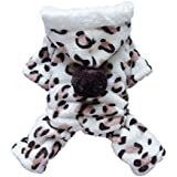 Leegoal Adorable Dog Coat for Dog Hoodie Dog Clothes Soft Cozy Pet Clothes Pet Coat, M