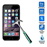 iPhone 6, iPhone 6S Screen protector tekSonic [iPhone 6 and iPhone 6S Tempered Glass] High Quality 0.33 mm, Anti-Scratch, Bubble-free, Anti-Fingerprint Glass Screen Protector for Apple iPhone 6/6s 4.7 inch - Retail Package