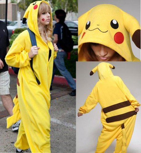 Pikachu Onesie For Adults